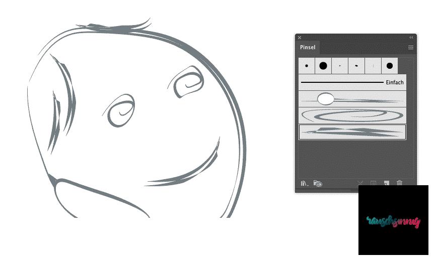 Bildpinsel erstellen in Adobe Illustrator