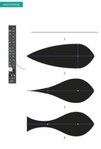Breitenwerkzeug Adobe Illustrator