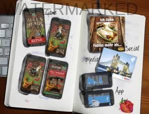 Illustartionen für Games und Apps.