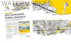 Illustration für Magazine und Broschüren