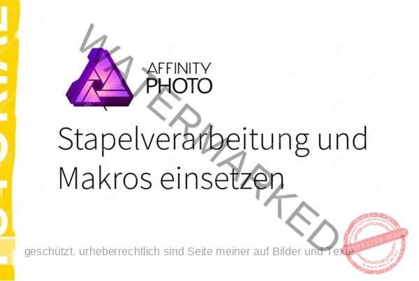 Vorlage Affinity Photo