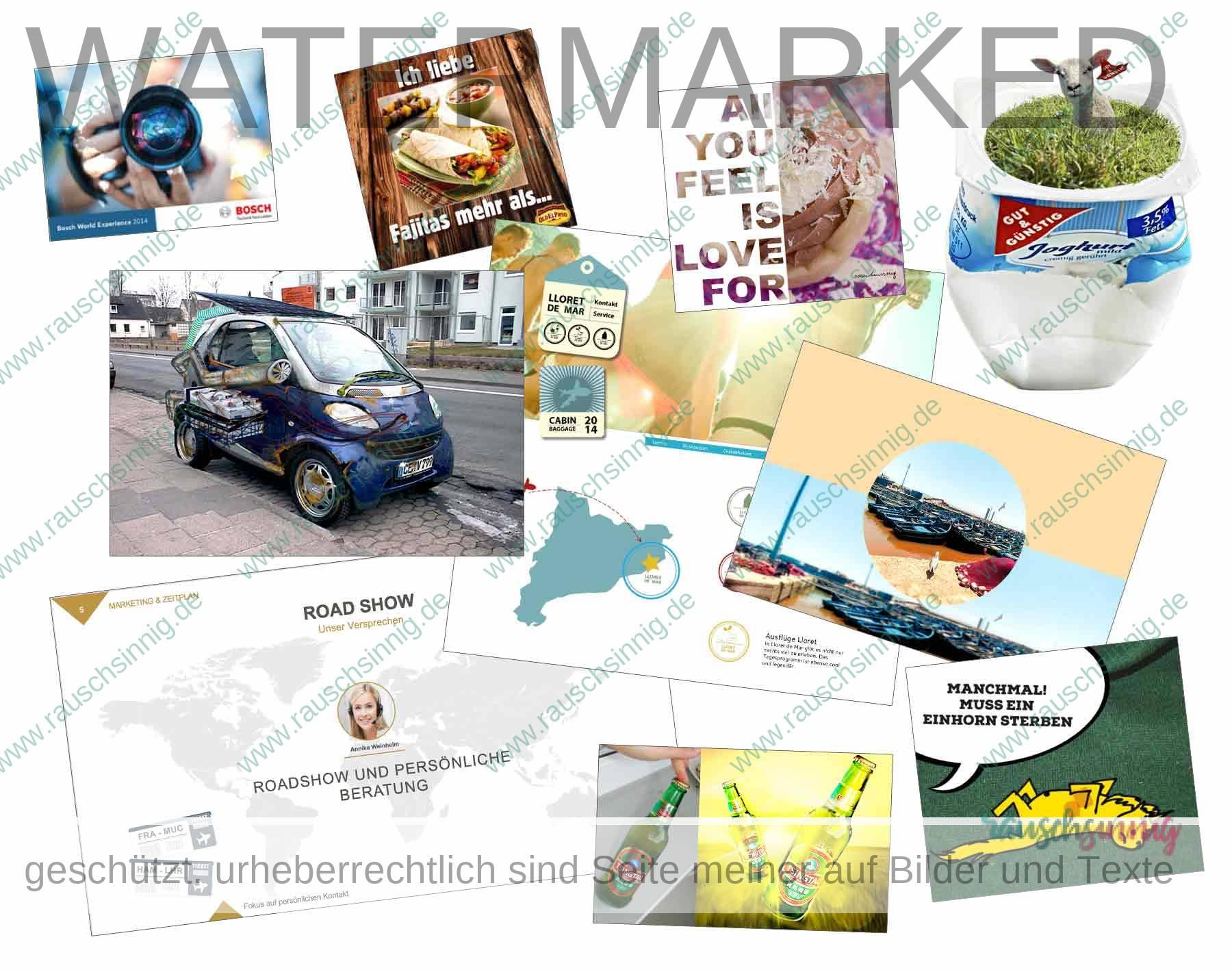 Präsentation, Unternehmenspräsentation Bilderwelten für Präsentation