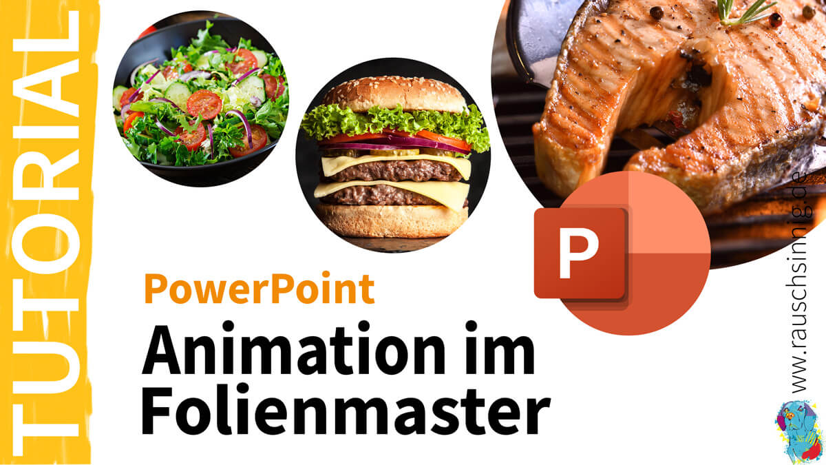 Animation im Folienmaster Tutorial