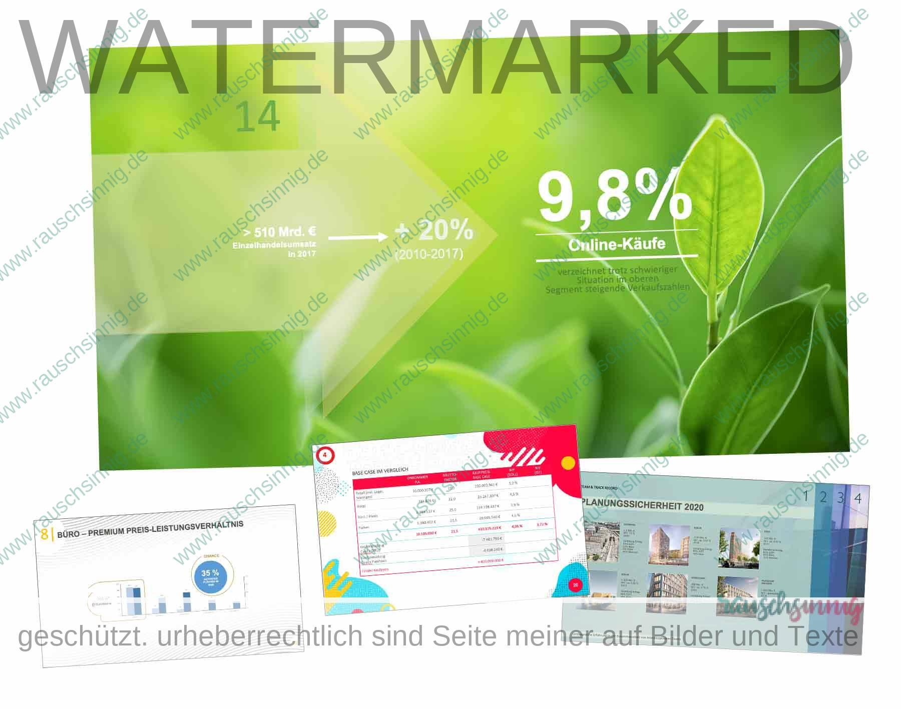 PowerPoint Sale Pitch Präsentationen