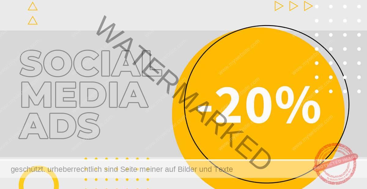 social media Anzeigen
