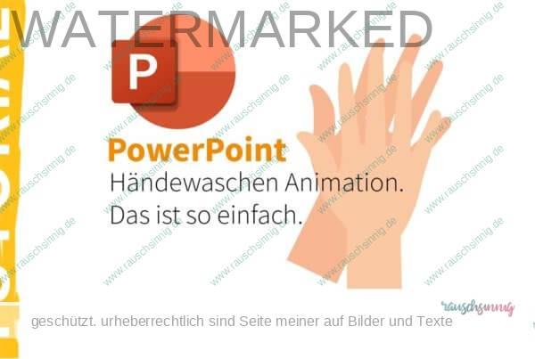Händewaschen-Animation-PPT