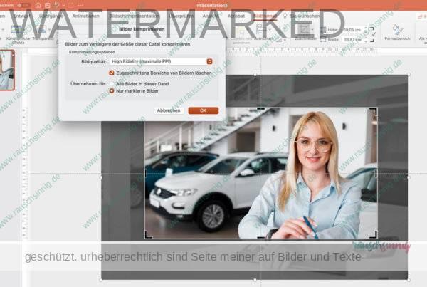 PowerPoint-Bilder-Komprimieren